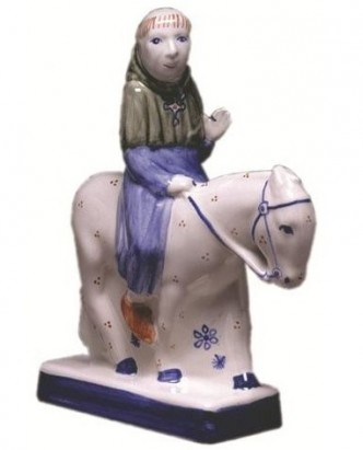 Rye Pottery - Chaucer's Canterbury Tales - The Friar