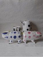 Ceramic Sussex Pig - Traditional Wedding Gift by Rye Pottery