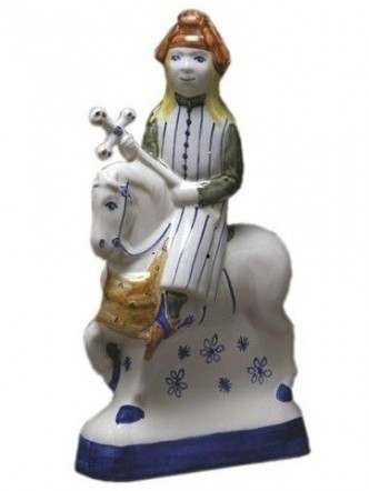 Rye Pottery - Chaucer's Canterbury Tales - The Pardoner