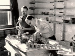 Wally Cole and Jack Cole - Siblings and post war founders of Rye Pottery