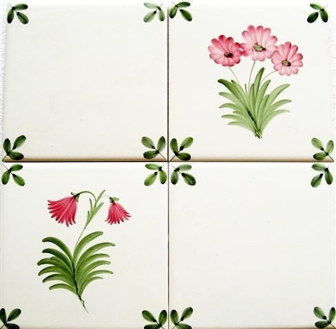 Flower Tiles Design