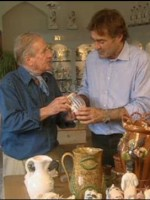 Rye Pottery on Flog It - Paul Martin discusses our highly collected Cottage Stripe pattern, still produced after 70 years