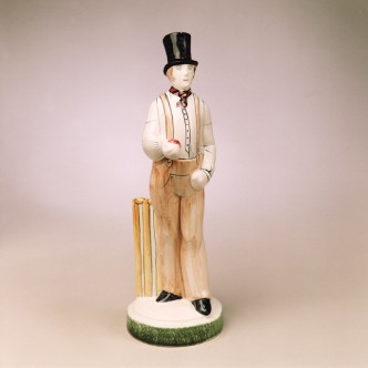 Rye Pottery's The Rye Cricketer - The Bowler James Lillywhite