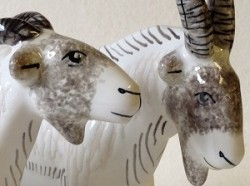 Ceramic Goats - Tracery Detail 1 sm
