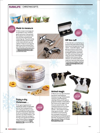 Farmers Weekly - Christmas Gift Guide 2013