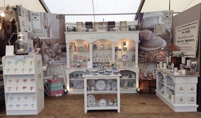 Rye Potterys stand at the Wealden Times MidSummer Fair 2014
