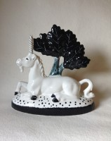Hand made & hand painted Rye Pottery Ceramic Unicorn4