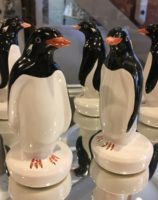Penguin Gift Antartica Exotic Rye Pottery Hand made and painted Penguin 0